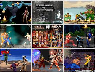 Free PC Game Mortal Kombat vs Street Fighter from Mediafire