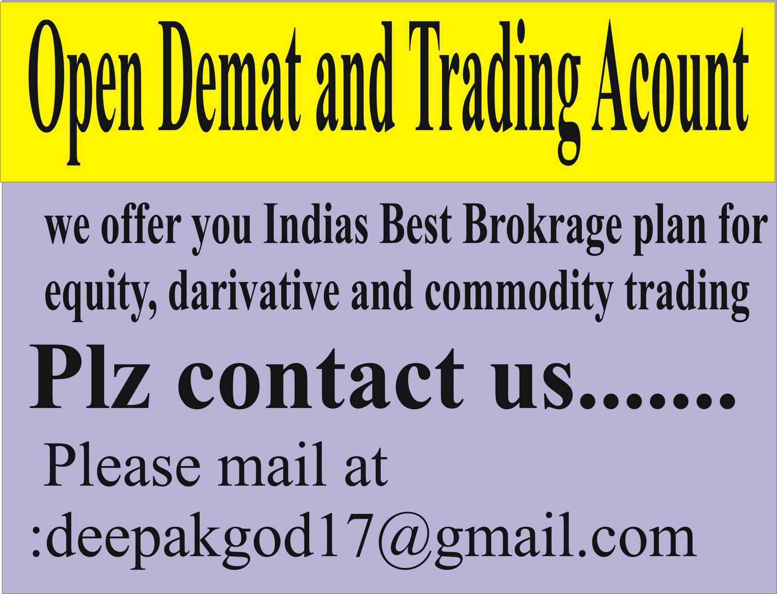 Reliance money online trading brokerage charges