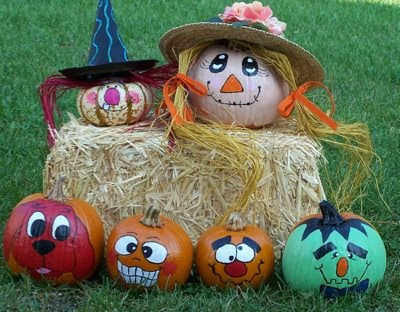 Activity alley kids crafts pumpkin painting - Cute pumpkin painting ideas ...