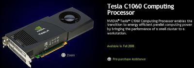 Nvidia Tesla C1060