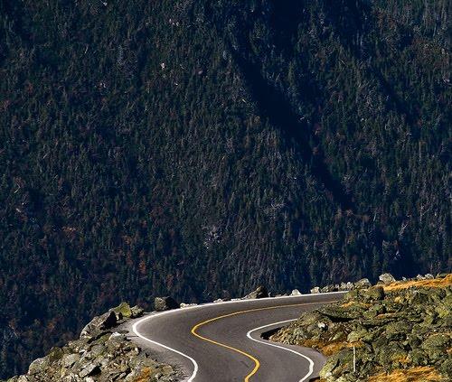 A Following Sea This Car Climbed Mt Washington