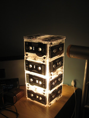 cassette tape lamp
