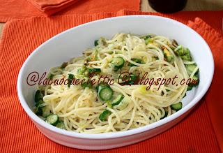 Spaghetti con le zucchinette
