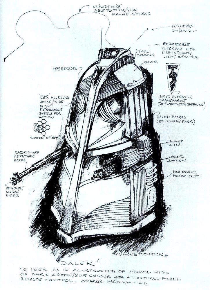Original Dalek Design