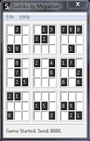 Sudoku by megablue v0.2 screen capture
