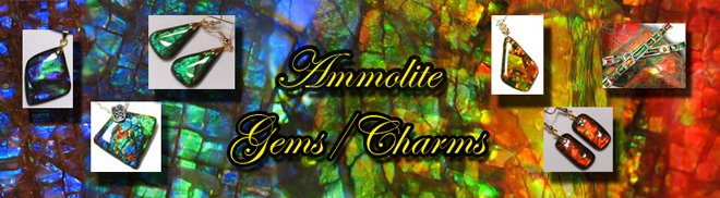 Ammolite Gems Charms