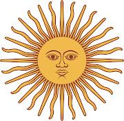 El creador de este simbolo fue Juan de Dios Ribera Tupac Amaru, . bandera sol ampliado