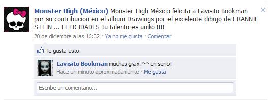 Me Felicitaron en FaceBook!!!