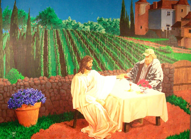 Jesus Serves the New Wine