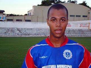 Diego Barriga, marcou o primeiro golde Conceição da Aparecida