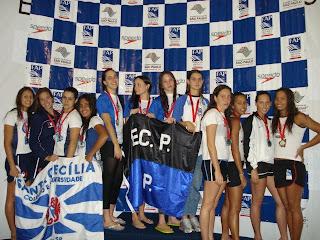 Equipe E C P Natação- Foto:Gelda Hoe