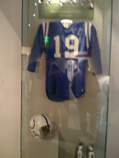 Johnny Unitas' uniform