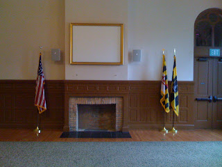 Lincoln's Gettysburg Address waiting room