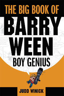 The Big Book of Barry Ween: Boy Genius cover