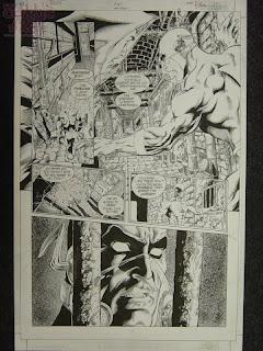 Flash original art of Iron Heights