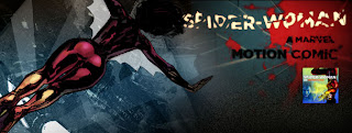 Spider-Woman Motion Comic banner