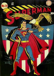 Patriotic Superman #14 cover