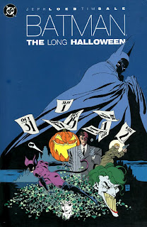 Jeph Loeb and Tim Sale Batman: The Long Halloween cover