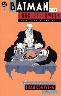 Batman: The Long Halloween Thanksgiving cover