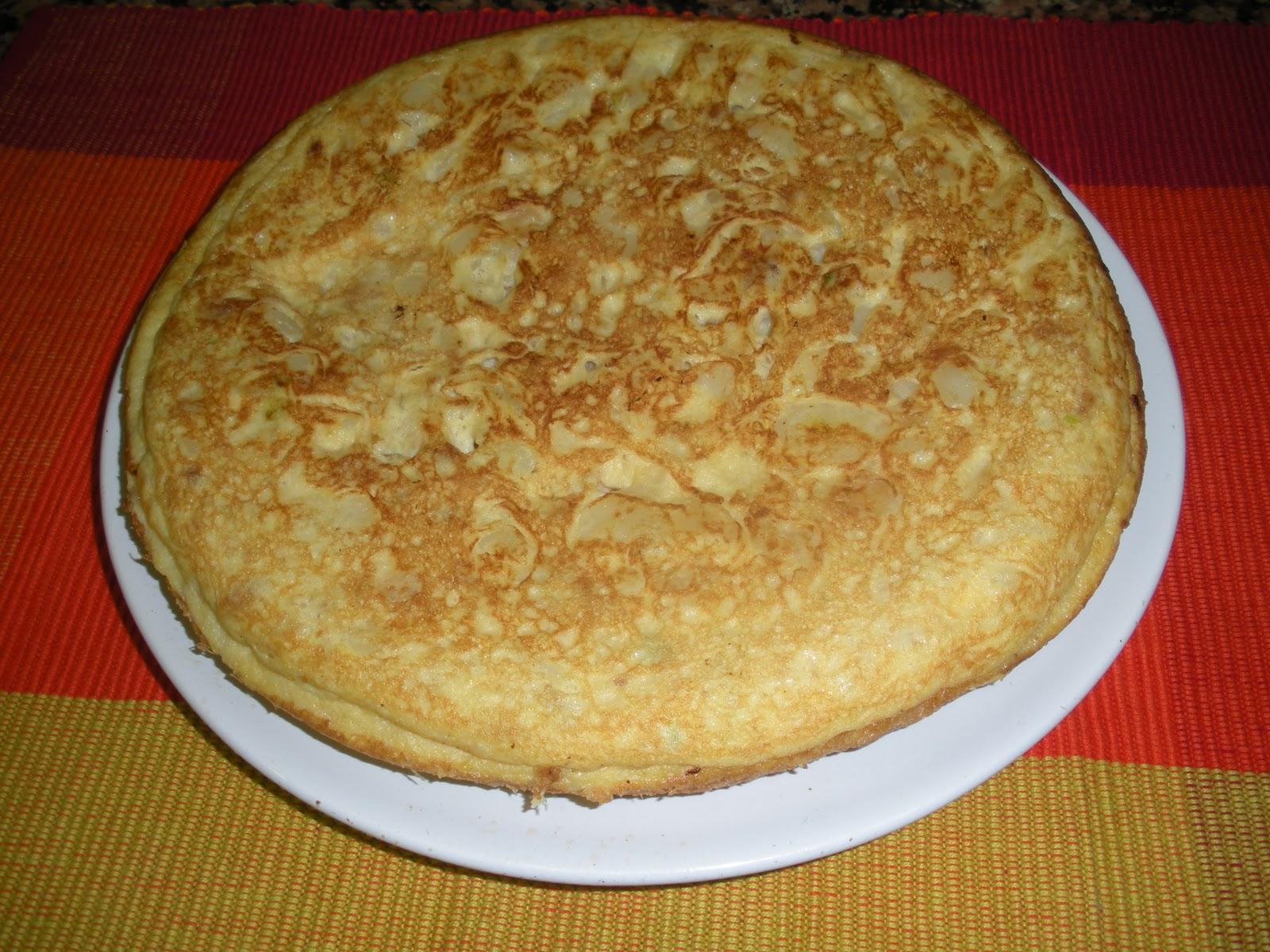 Come bien con ceeft tortilla de calabac n patata y cebolla - Tortilla de calabacin y cebolla ...