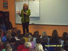 Wendel Visits Corydon Elementary School!