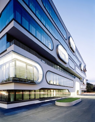 Imposing Office Building In Hamburg