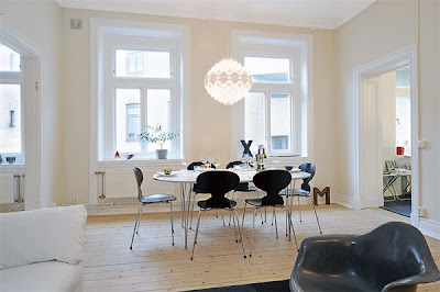1896 Swedish Apartment Becomes Modern