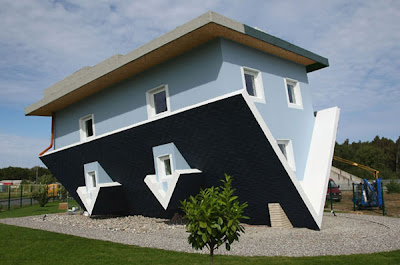 Crazy Upside Down House in Germany