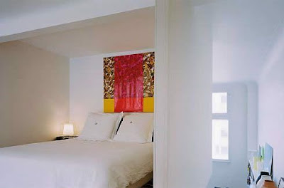 A Hanging Bedroom in Valentin Apartment