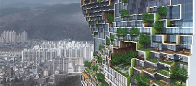 Dancing Apartment Adding green to the concrete jungle