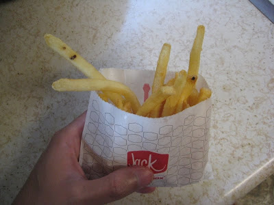 Jack in the Box's new fries side view