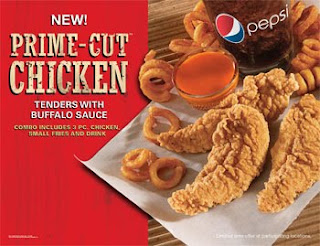 Arby's Prime-Cut Chicken Tender