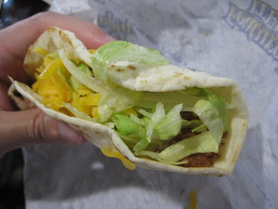 Taco Bell Crispy Potato Soft Taco