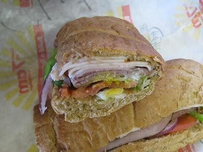 Subway Club close up