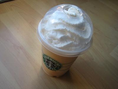 Starbucks Pumpkin Spice Creme Frappuccino