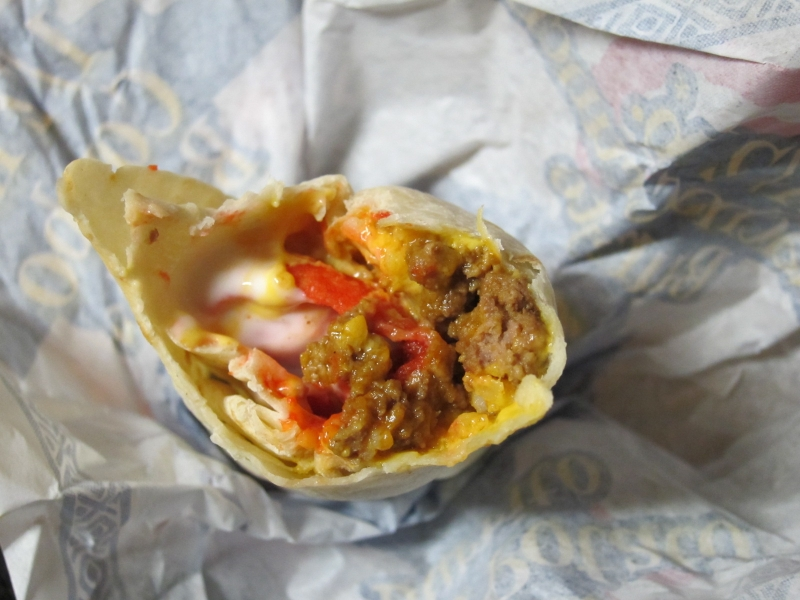 The Beefy Crunch Burrito couldTaco Bell Beefy Crunch Burrito