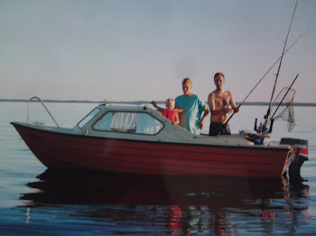 Våran första båt