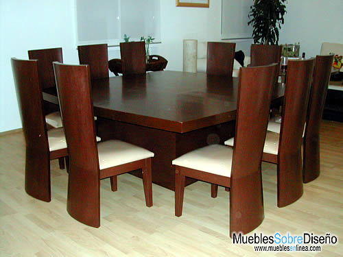 Muebles da priss comedores for Disenos de comedores de madera