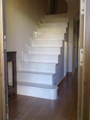 Aljavera reformas del hogar soler as de gres imitacion a - Escaleras de gres ...