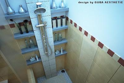 Desain Kamar Mandi Kering on Disiasati Seperti Digambar Karena Keterbatasan Ruang Kamar Mandi Ini
