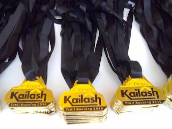 Medalha da 4º Corrida Kailash Trail Runnig