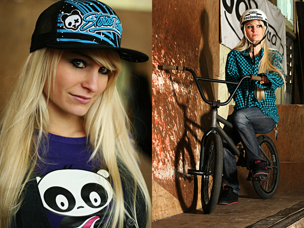 bmx and girl wallpaper - photo #11
