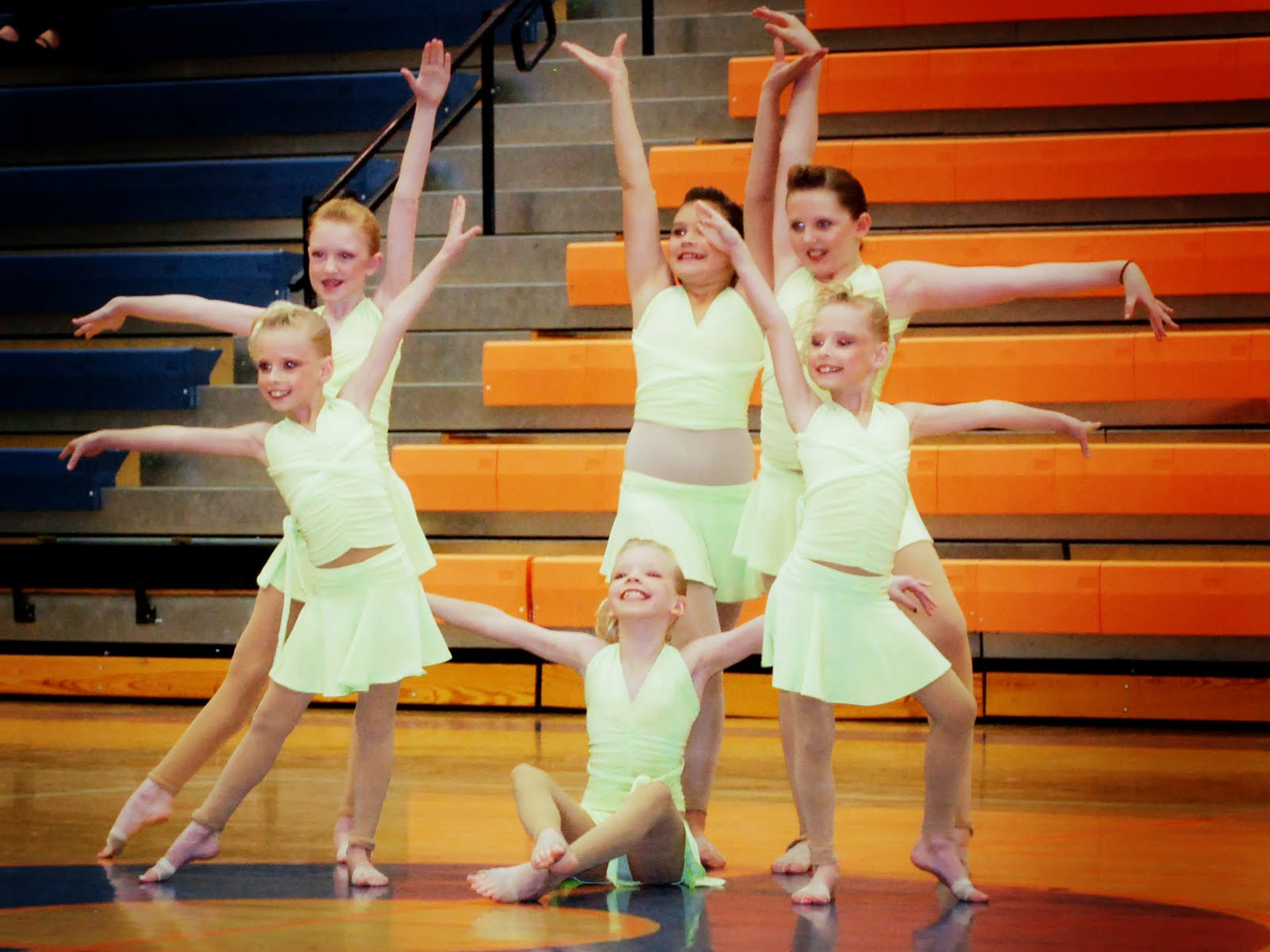 Second Time Dancewear Darling Mint Green Two Piece Dance