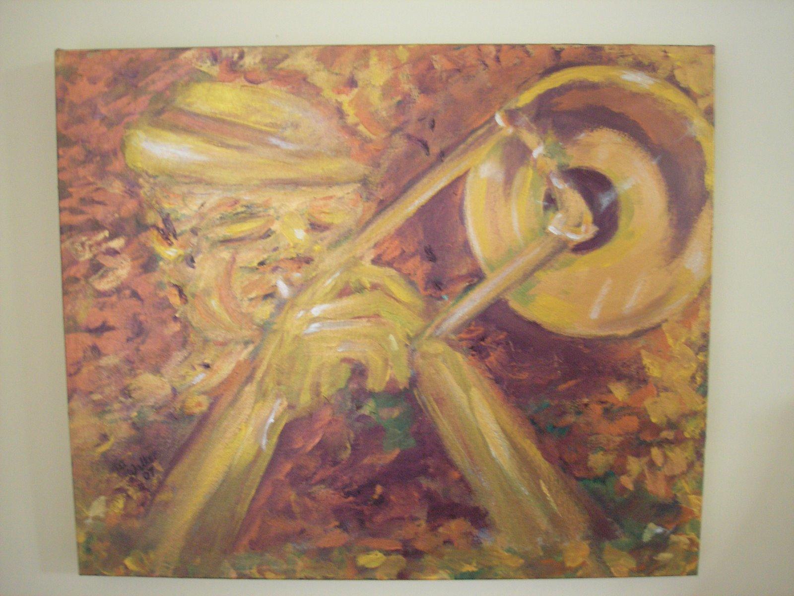 [gold+trombone]