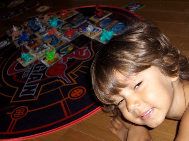 how to play bakugan without cards