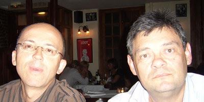 Pierre Chappaz (Wikio) et Jean-Marie Le Ray (Adscriptor.com)