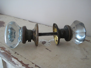 Eight Point Glass Door Knob