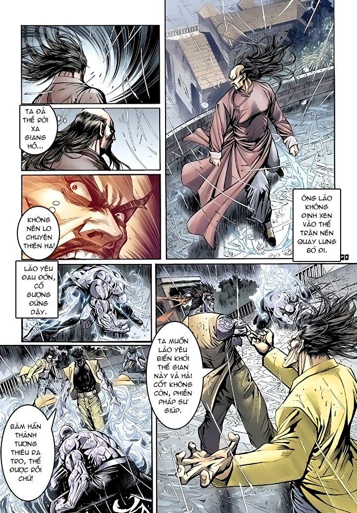 Tân Tác Long Hổ Môn chap 94 - Trang 20