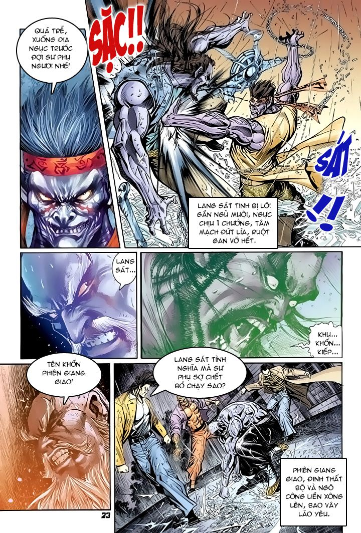 Tân Tác Long Hổ Môn chap 94 - Trang 23