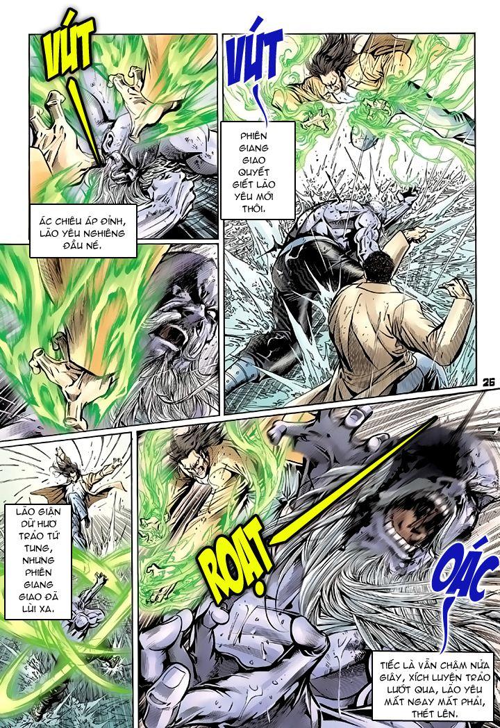 Tân Tác Long Hổ Môn chap 94 - Trang 26
